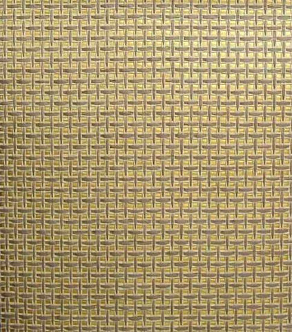 Paper Weave Wallpaper in Beige, Cream, and Gold from the Winds of the Asian Pacific Collection by Burke Decor