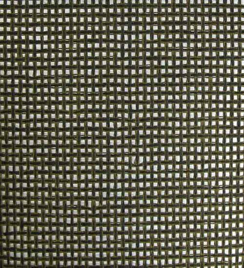Paper Weave Wallpaper in Black, Olive, and Silver from the Winds of the Asian Pacific Collection by Burke Decor