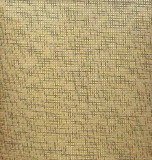 Sample Paper Weave Wallpaper in Salt and Pepper on Gold from the Winds of the Asian Pacific Collection by Burke Decor