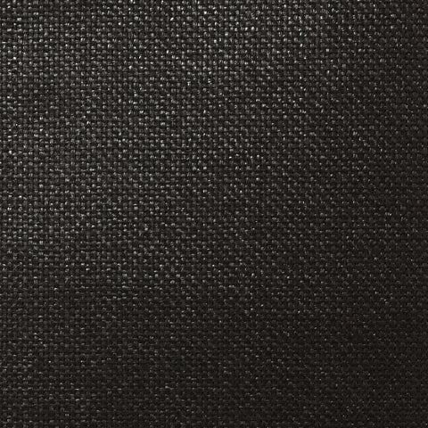 Sample Paperweave Wallpaper in Shimmering Ebony from the Luxe Retreat Collection by Seabrook Wallcoverings