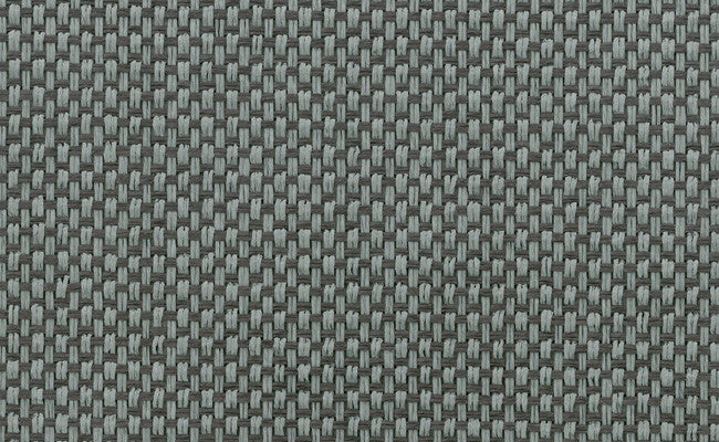 Paperweave Grasscloth Wallpaper in Blue and Brown design by Seabrook Wallcoverings