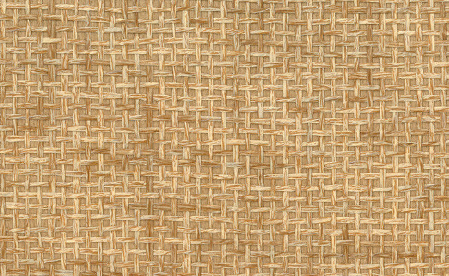 Sample Paperweave Grasscloth Wallpaper in Brown design by Seabrook Wallcoverings