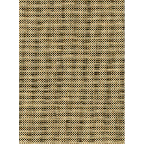 Paperweave Grasscloth Wallpaper in Tan and Black from the Natural Resource Collection by Seabrook Wallcoverings