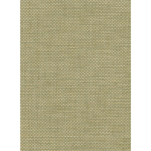 Paperweave Grasscloth Wallpaper in Tan and Green from the Natural Resource Collection by Seabrook Wallcoverings