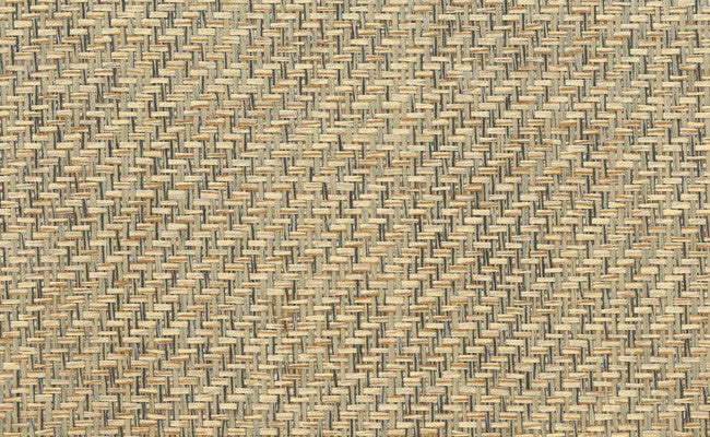 Paperweave Wallpaper in Black and Brown design by Seabrook Wallcoverings