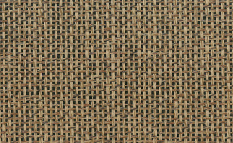 Paperweave Wallpaper in Brown and Black design by Seabrook Wallcoverings