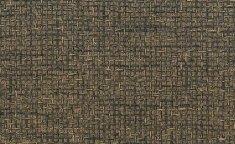 Paperweave Wallpaper in Dark Brown design by Seabrook Wallcoverings