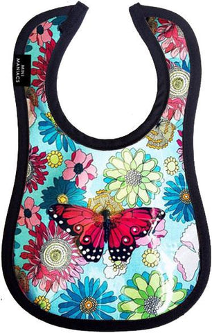 Papillon Baby Bib by Mini Maniacs