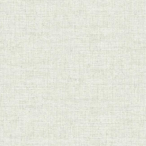 Papyrus Weave Peel & Stick Wallpaper in White by York Wallcoverings