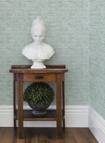 Papyrus Weave Wallpaper from the Conservatory Collection by York Wallcoverings