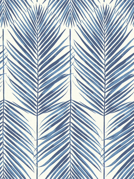 Sample Paradise Wallpaper In Coastal Blue From The Beach House Collect Burke Decor