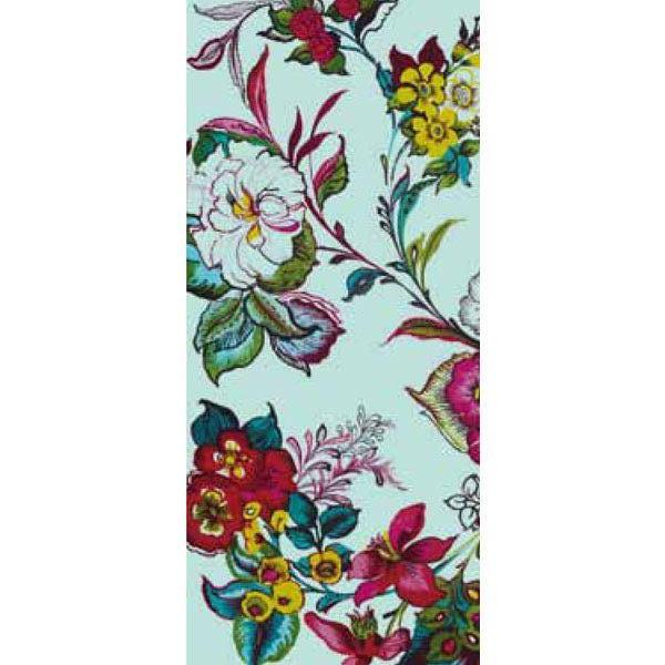 Pareo Aqua Colossal Floral Wall Mural by Eijffinger for Brewster Home Fashions