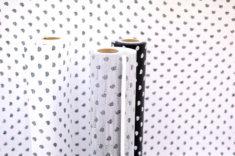 Particles Wallpaper in White design by Truly Truly for NLXL Wallpaper