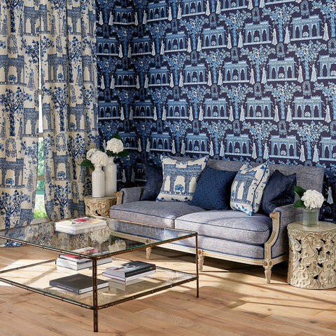 Pavilion Garden Wallpaper by Nina Campbell for Osborne & Little