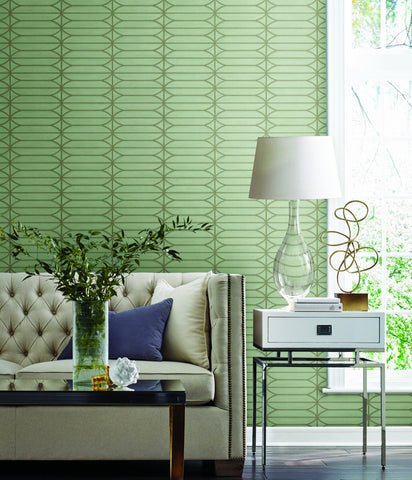 Pavilion Wallpaper from the Breathless Collection by Candice Olson for York Wallcoverings