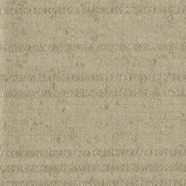 Pearla Wallpaper in Brown Pearlescent from the Terrain Collection by Candice Olson for York Wallcoverings
