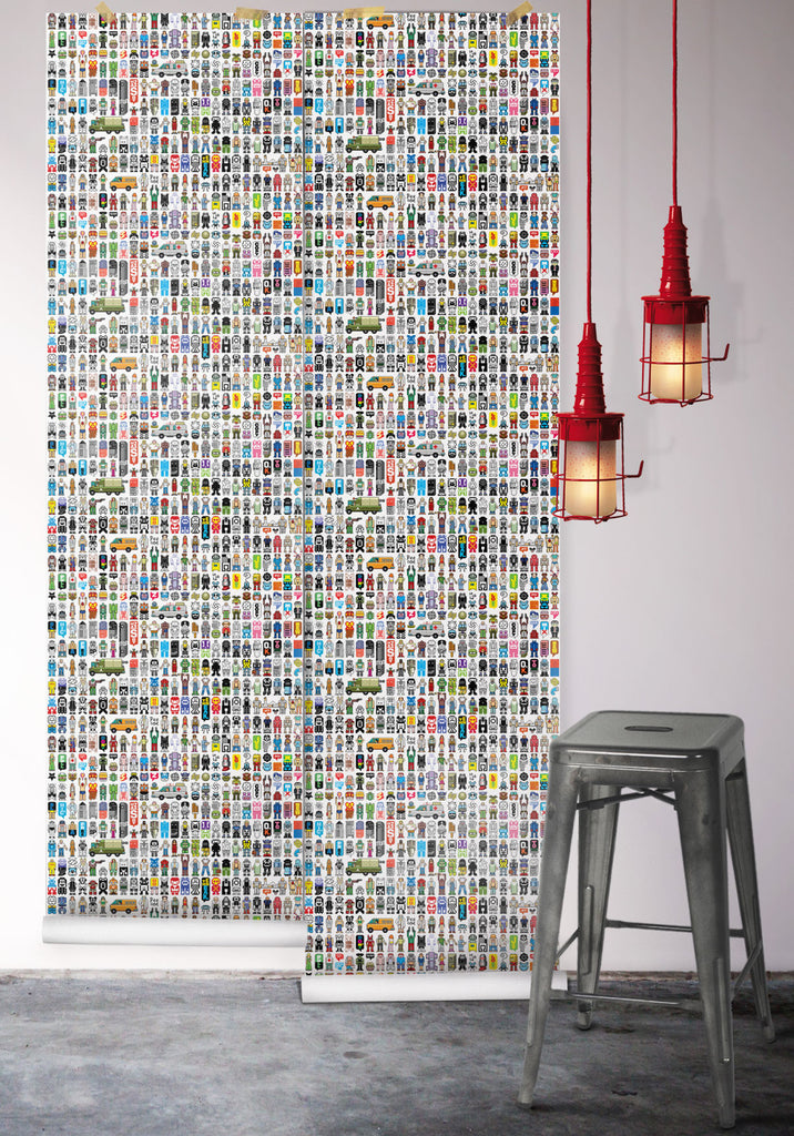 Peecol Boutique Wallpaper by Milton & King