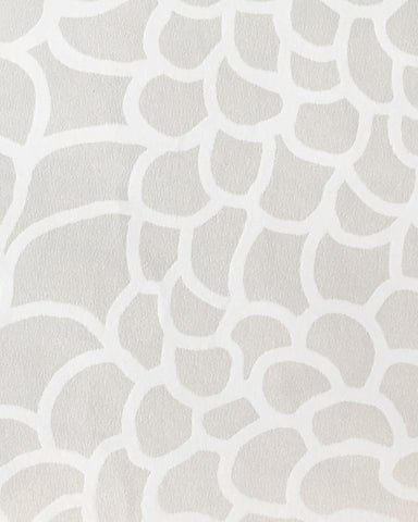 Peel Wallpaper in Ice design by Jill Malek