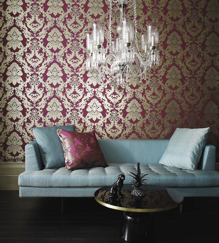 Pegasus Wallpaper by Matthew Williamson for Osborne & Little