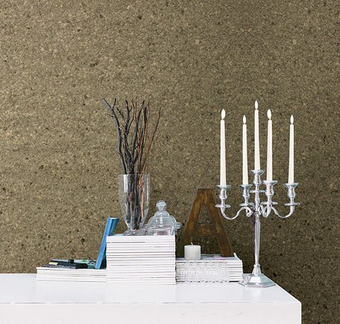 Petra Grey Mica Chip Wallpaper from the Jade Collection by Brewster Home Fashions