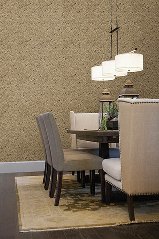 Petra Silver Mica Chip Wallpaper from the Jade Collection by Brewster Home Fashions