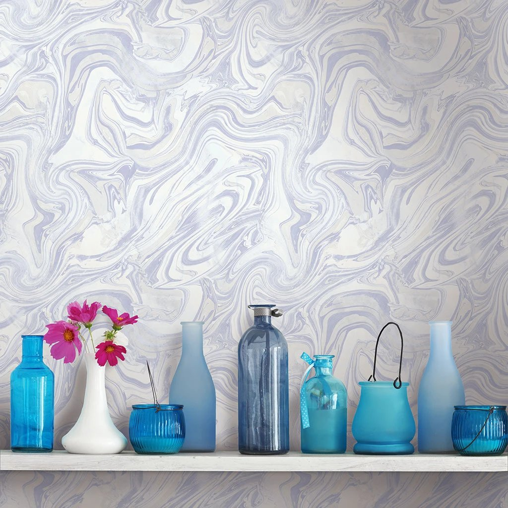 Petra Wallpaper from the Sanctuary Collection by Mayflower Wallpaper