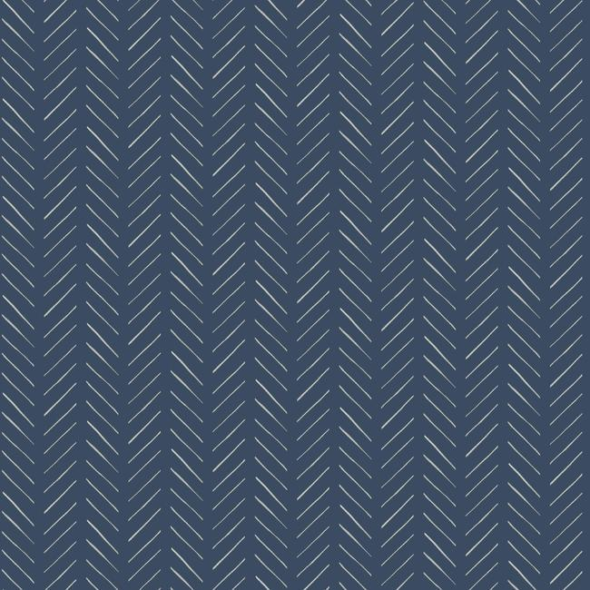 Pick-Up Sticks Peel & Stick Wallpaper in Blue by Joanna Gaines for York Wallcoverings