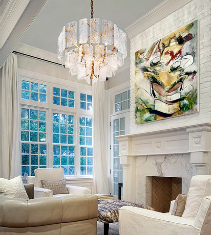 Piemonte Chandelier by Corbett Lighting