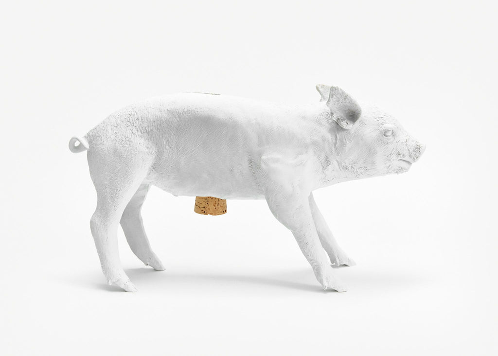 Reality Bank in the Form of a Pig in Various Colors design by Areaware