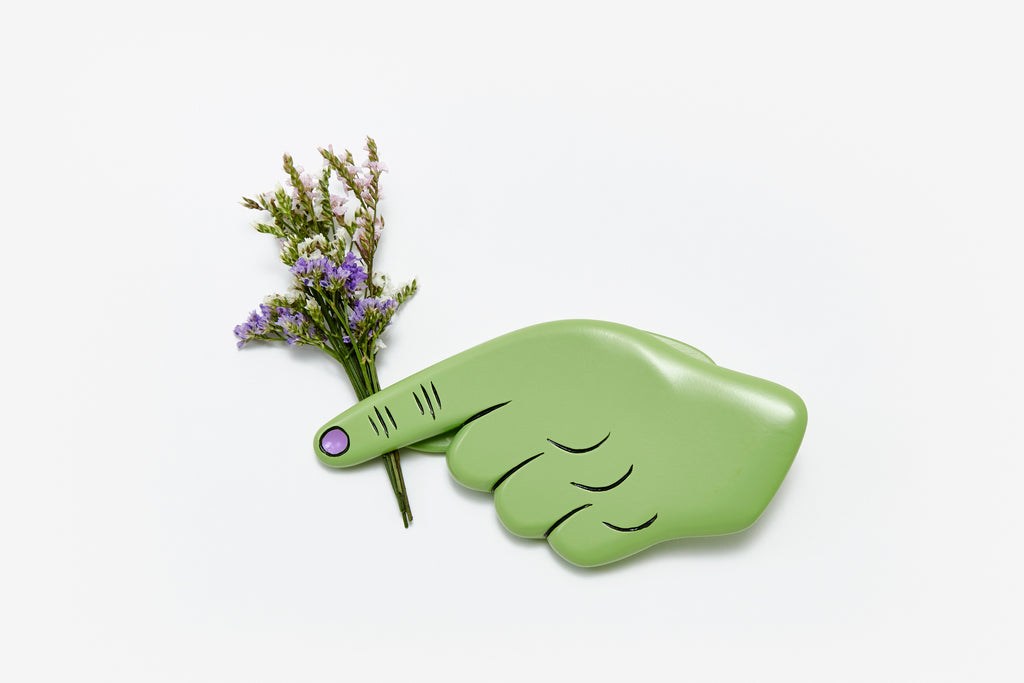 Green Pinch Clip design by Areaware