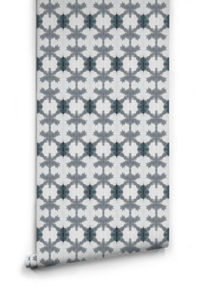 Pineapple Wallpaper from the Shibori Collection by Milton & King