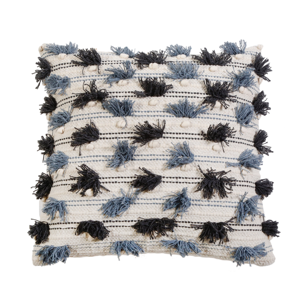 Pippa Handwoven Pillow with Insert by Pom Pom at Home