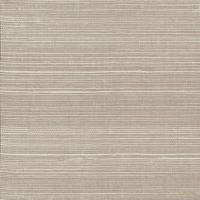 Plain Grass Wallpaper in Ivory and Neutrals from the Grasscloth II Collection by York Wallcoverings