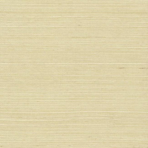Plain Grass Wallpaper in Natural from the Grasscloth II Collection by York Wallcoverings