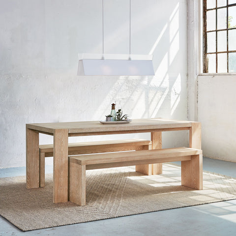 Plank Dining Bench by Gus Modern