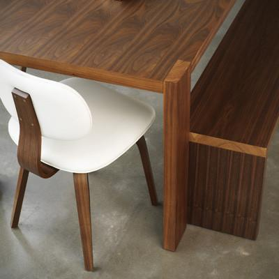 Plank Wooden Dining Bench design by Gus Modern