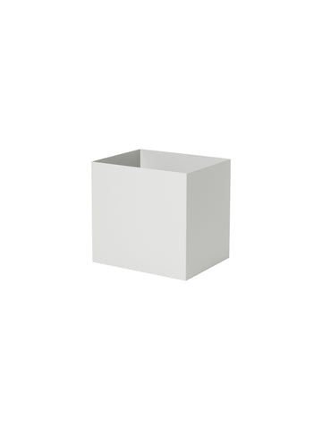 Plant Box Pot in Light Grey by Ferm Living