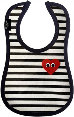 Playdate Baby Bib by Mini Maniacs
