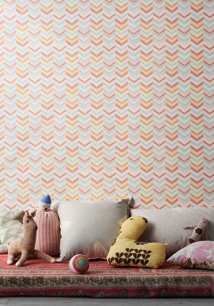 Pocohontas Spring Wallpaper from the Love Mae Collection by Milton & King