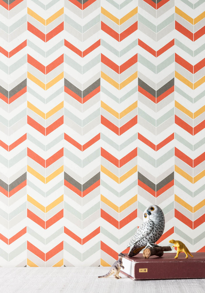 Pocohontas Wallpaper from the Love Mae Collection by Milton & King