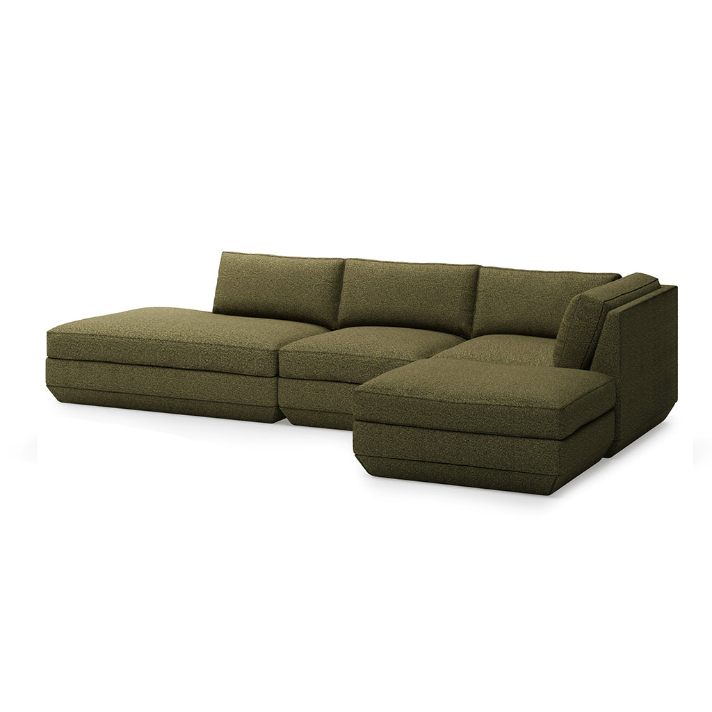 Podium Modular 4-Piece Lounge Sectional B