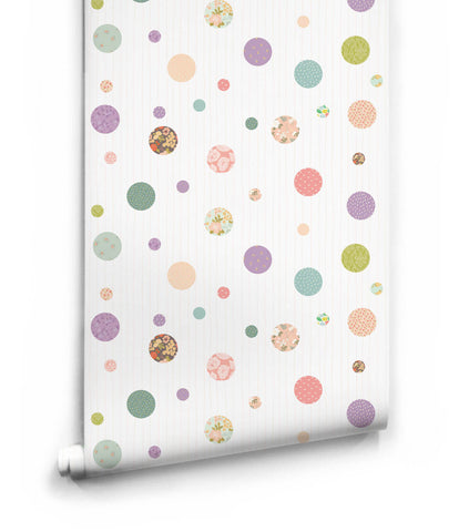 Polkadot Dreams Wallpaper from the Love Mae Collection by Milton & King