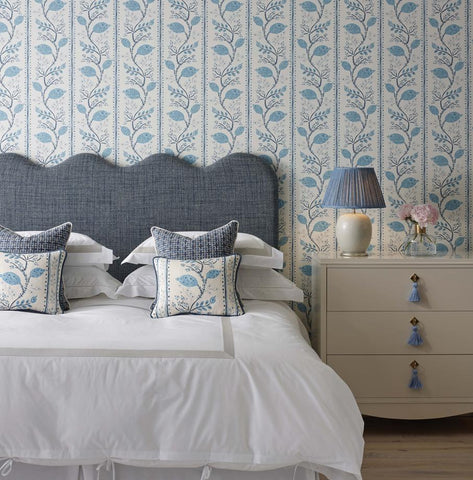 Pomegranate Trail Wallpaper from the Ashdown Collection by Nina Campbell for Osborne & Little