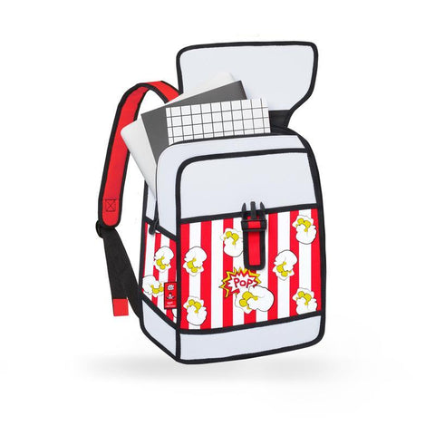 Pop Art Backpack in Various Colors by BD