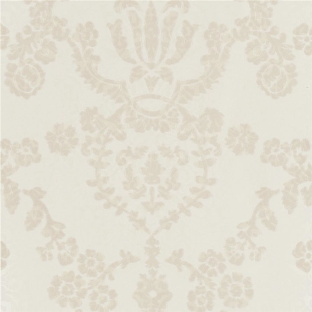 Portia Wallpaper in Pearl from the Edit Vol. 1 Collection by Designers Guild