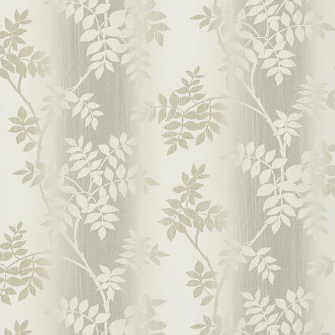Posingford Wallpaper in Dove and Taupe from the Ashdown Collection by Nina Campbell for Osborne & Little