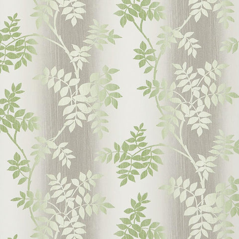 Posingford Wallpaper in Grey and Green from the Ashdown Collection by Nina Campbell for Osborne & Little