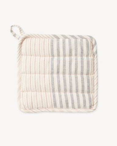 Apricot Stripe Potholder by Minna