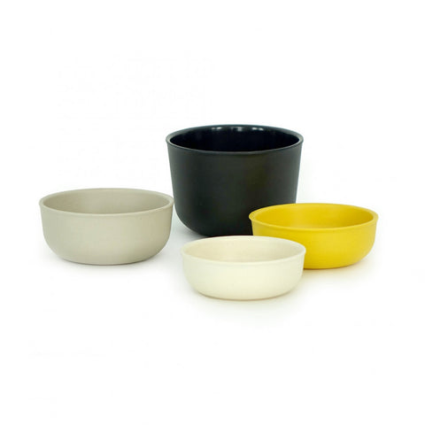 Pronto Bamboo Nested Measuring Cup Set design by EKOBO