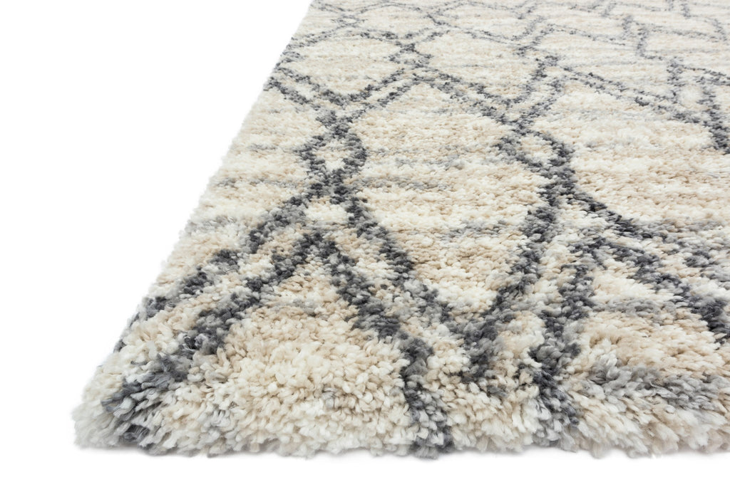 Quincy Rug in Sand & Graphite by Loloi